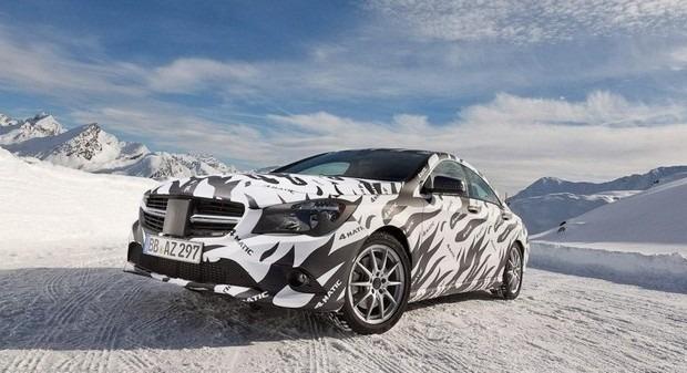 Mercedes показали новый закамуфлированный спортивный седан. Изображение № 2.