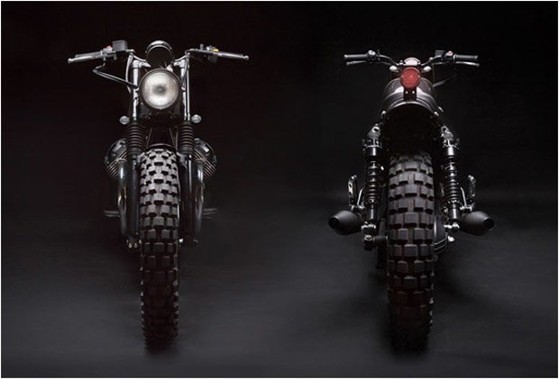 Стефан Вернье построил новый кастом на базе Moto Guzzi V7 Stone . Изображение № 3.