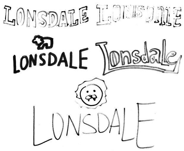 Дизайнеры Look At Media рисуют логотипы марок одежды по памяти. Изображение № 8.