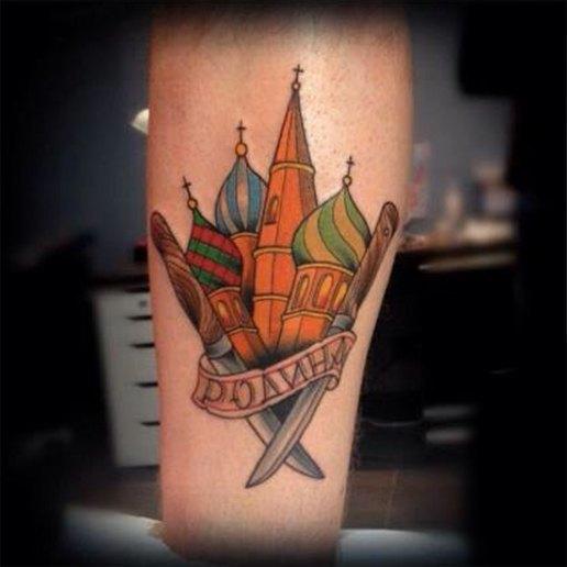 Русский народный олдскул: Традиционные татуировки на российский манер. Изображение № 13.
