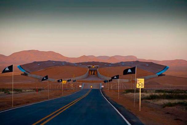 В Нью-Мексико построен первый в мире частный космопорт. Изображение № 2.