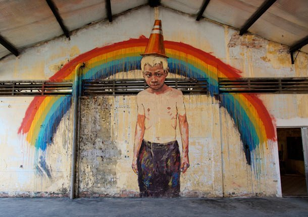 Граффити-художник из Литвы выпустил фильм об уличном искусстве в Малайзии. Изображение № 3.