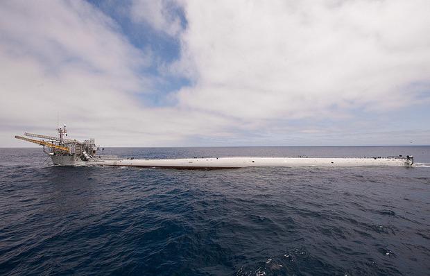 Единственный в мире корабль-перевертыш отметил полувековой юбилей. Изображение № 1.