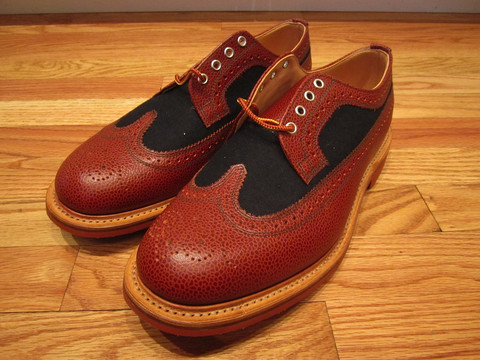Дизайнер Марк МакНейри выпустил весеннюю коллекцию обуви. Изображение № 4.