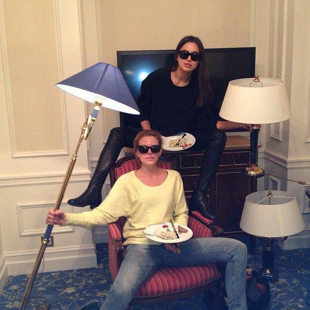 Что публикуют в своих Instagram-блогах российские модели. Изображение № 24.