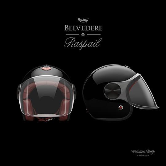 Коллекция мотоциклетных шлемов марки Les Ateliers Ruby. Изображение № 8.