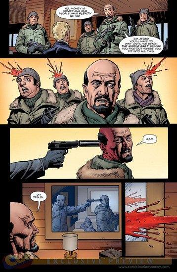 Режиссер «Пипца» экранизирует еще один комикс Марка Миллара «Тайная служба». Изображение № 8.