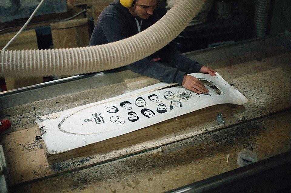 FURFUR х Pepper Customs: Как выглядит процесс создания лонгборда. Изображение № 23.
