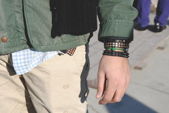 Детали: Репортаж с выставки мужской одежды Pitti Uomo. День первый. Изображение № 50.