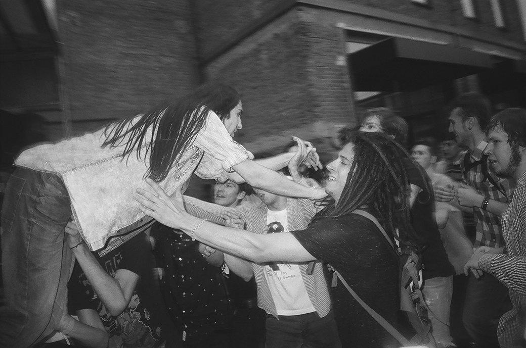Фоторепортаж: Фестиваль новой российской рок-музыки «Боль». Изображение № 14.