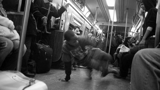 В Нью-Йорке арестованы 96 танцоров брейк-данс в метро. Изображение № 1.