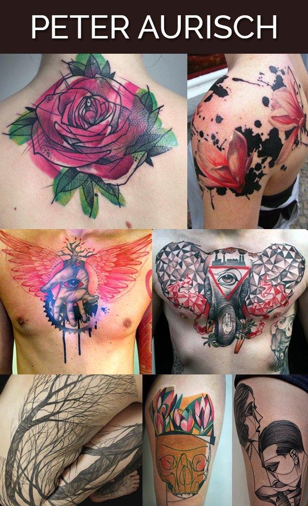 Buzzfeed составил список лучших тату-мастеров мира. Изображение № 12.