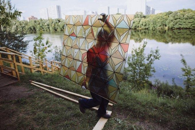 Фоторепортаж: Строительство объектов фестиваля Outline. Изображение № 63.