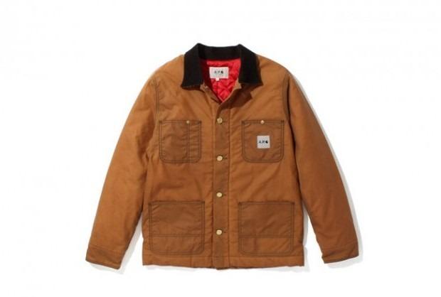 Марки A.P.C. и Carhartt WIP представили совместную коллекцию одежды. Изображение № 2.