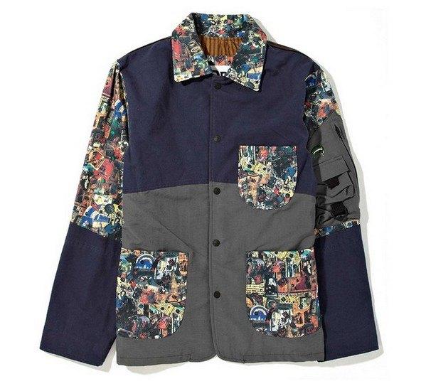 Марка Stussy и дизайнер Даррен Романелли представили совместную коллекцию одежды. Изображение № 4.