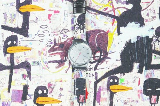 Марка Komono выпустила часы, оформленные работами Жан-Мишеля Баския. Изображение № 3.