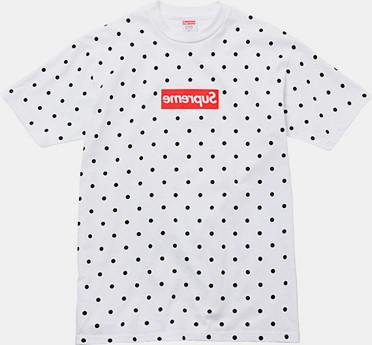 Марки Supreme и Comme des Garсons Shirt выпустили лукбук совместной коллекции одежды. Изображение № 9.