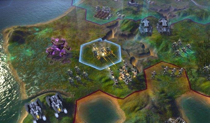 В Steam вышла новая, космическая часть Civilization. Изображение № 1.