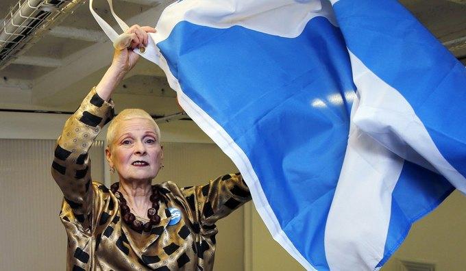 Вивьен Вествуд поддержала независимость Шотландии. Изображение № 1.