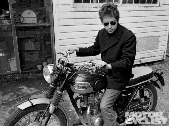 Боб Дилан — Triumph Bonneville T120. Изображение № 8.