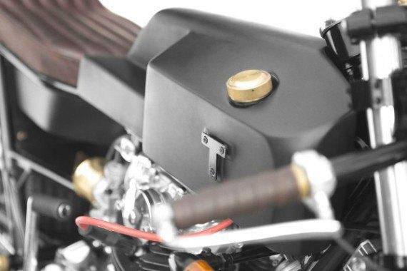 Мотомастерская Thrive Motorcycle представила каферейсер на базе Yamaha XS650 . Изображение № 13.