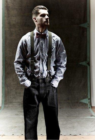 Марка Nigel Cabourn выпустила лукбук осенней коллекции одежды. Изображение № 10.