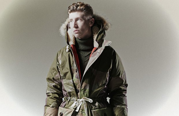 Марка Nigel Cabourn опубликовала лукбук осенне-зимней коллекции . Изображение № 4.