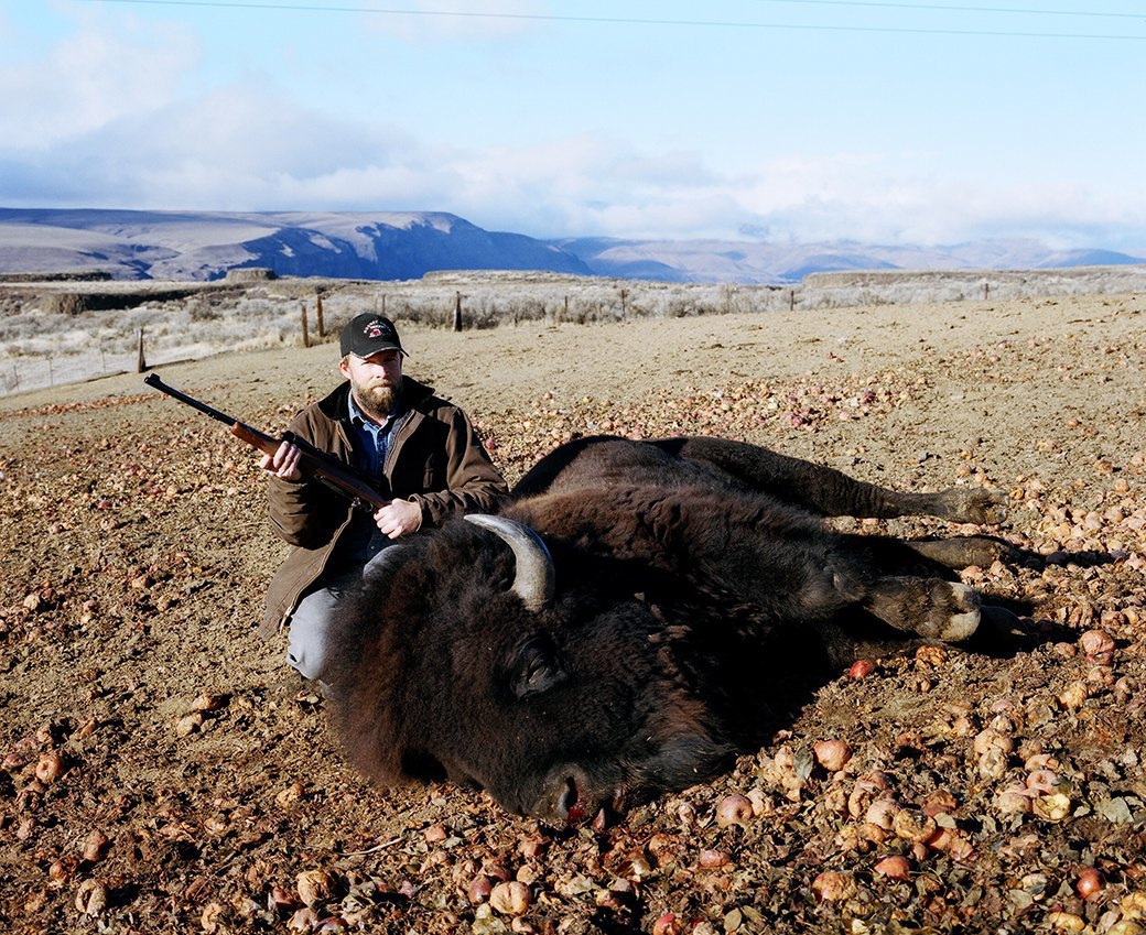 Бытовая жизнь работников бизоньего ранчо в США . Изображение № 9.