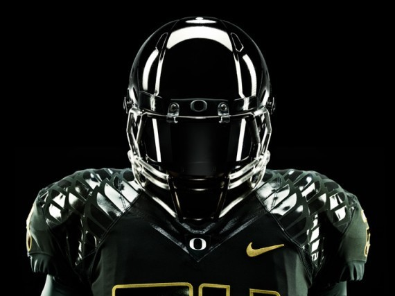 Футуристичная униформа команды Oregon Ducks. Изображение № 3.