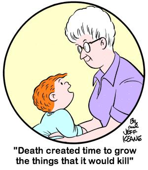Пользователь Tumblr объединил комикс Family Circus и сериал True Detective. Изображение № 7.