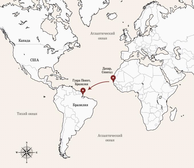 Одинокое плавание: 8 путешественников, пересекших Атлантику на весельной лодке. Изображение № 16.