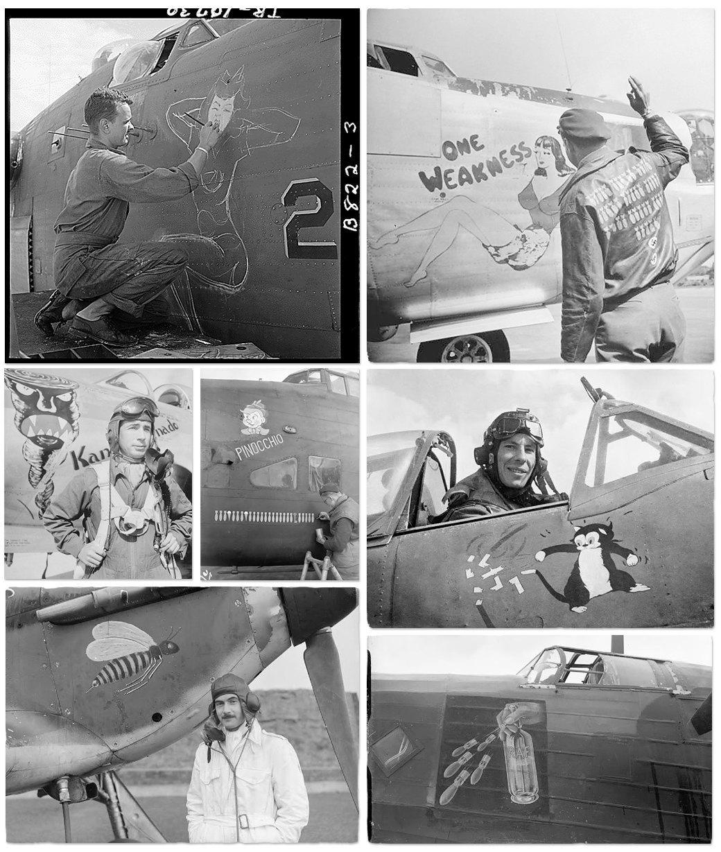Рисунки на самолетах времен Второй мировой войны. Изображение № 4.