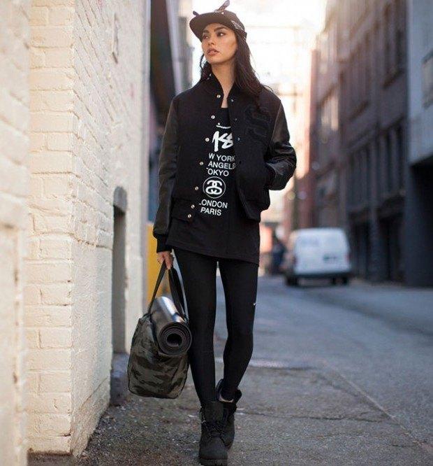 Канадская модель Адрианна Хо снялась в весеннем лукбуке марки Stussy. Изображение № 5.