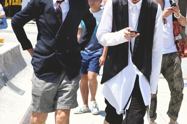 Детали: Репортаж с выставки мужской одежды Pitti Uomo. День первый. Изображение № 13.