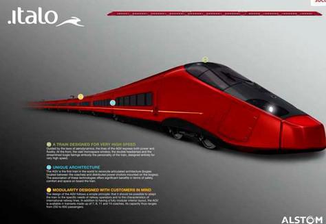 В Италии появятся поезда, разработанные концерном «Феррари». Изображение № 4.