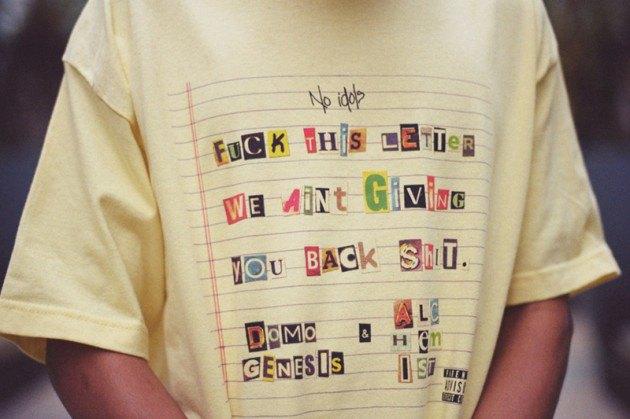 Хип-хоп-группировка Odd Future выпустила весенний лукбук своей коллекции одежды. Изображение № 30.