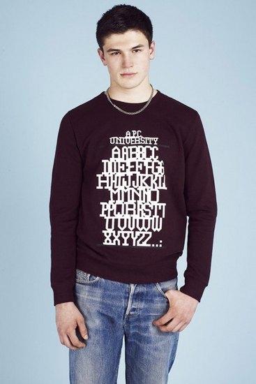 Французская марка A.P.C. выпустила лукбук весенней коллекции одежды. Изображение № 19.
