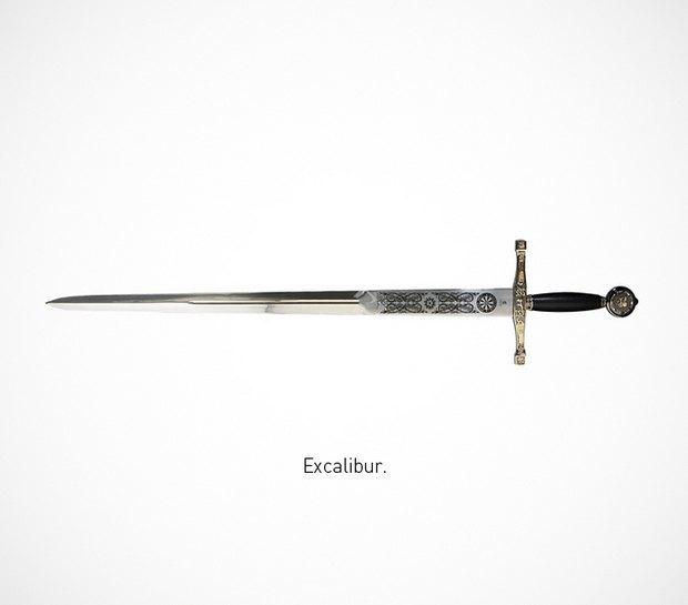 Итальянский дизайнер представил коллекцию ножей знаменитых персонажей. Изображение № 16.