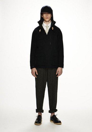 Марка Woolrich Woolen Mills опубликовала лукбук осенней коллекции одежды. Изображение № 8.