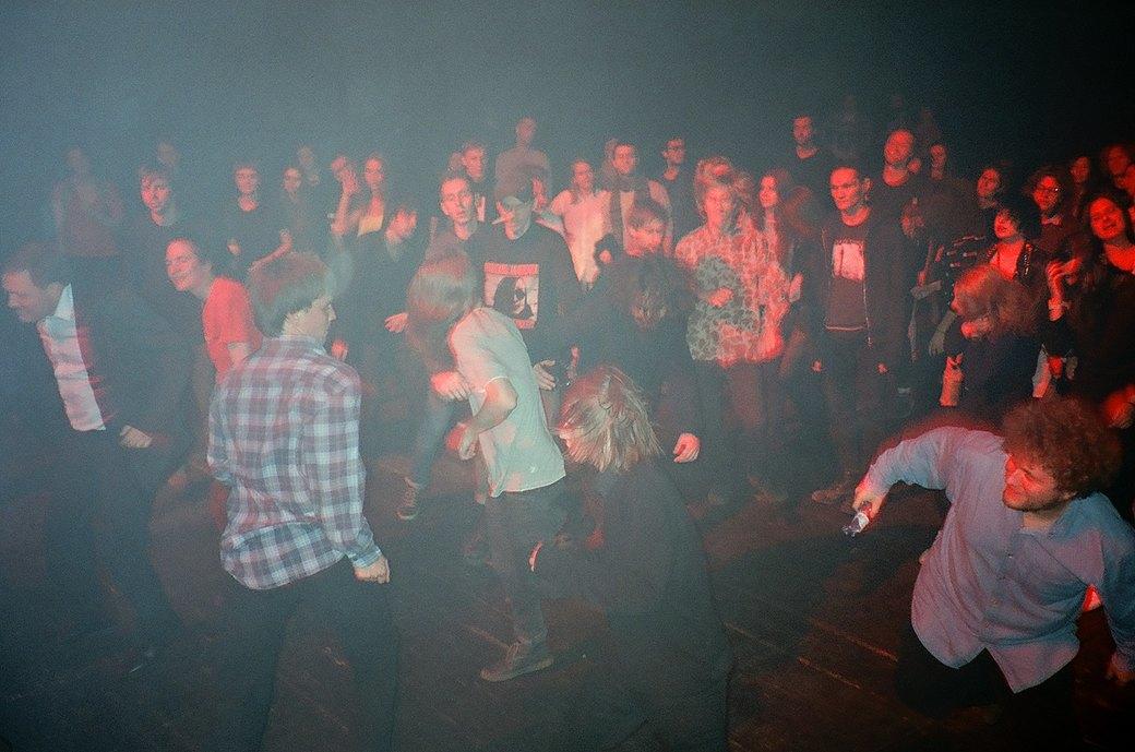 Фоторепортаж: Концерт «Панк-фракции красных бригад» в театре имени Вс. Мейерхольда. Изображение № 11.