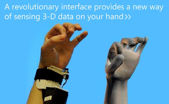 Microsoft создали браслет, превращающий руку в джойстик. Изображение № 3.
