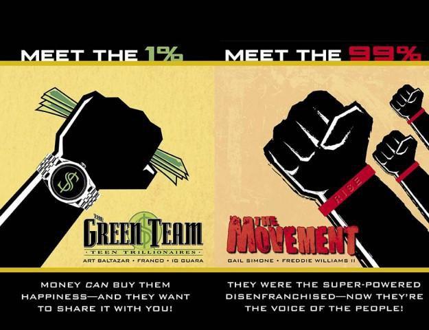 DC Comics выпустят комиксы о движении Occupy Wall Street. Изображение № 1.