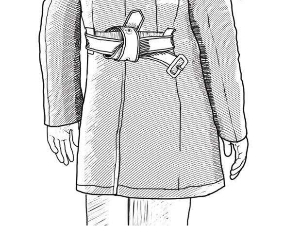 Совет: Как завязывать пояс на тренче. Изображение № 9.