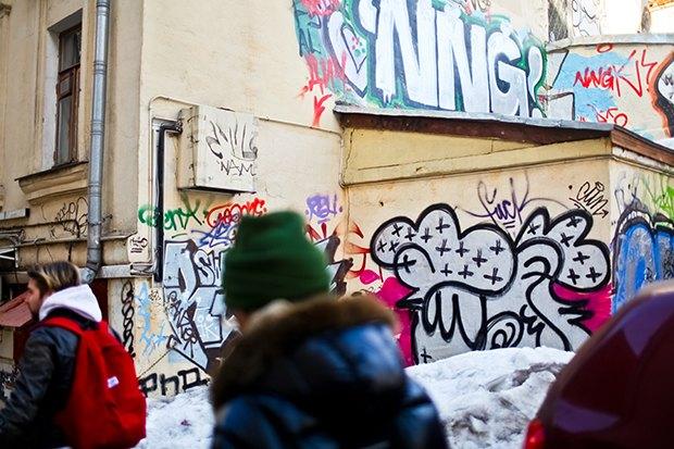 «Если уж нарушать закон, причина должна быть веской»: День с граффити-ветераном Futura 2000. Изображение № 4.