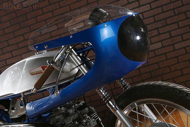 Мастерская Air-Tech Streamlining собрала новый мотоцикл на базе Suzuki Stinger. Изображение № 4.