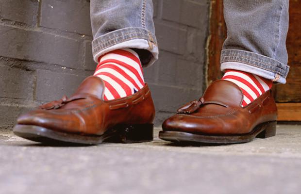 Как правильно носить лоферы с носками?. Изображение № 3.