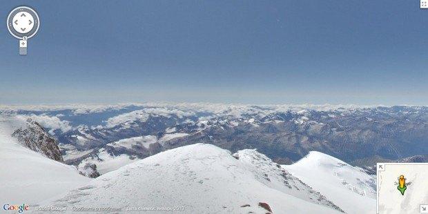 При помощи Google Street View теперь можно побывать на Килиманджаро, Эвересте и других вершинах. Изображение № 7.