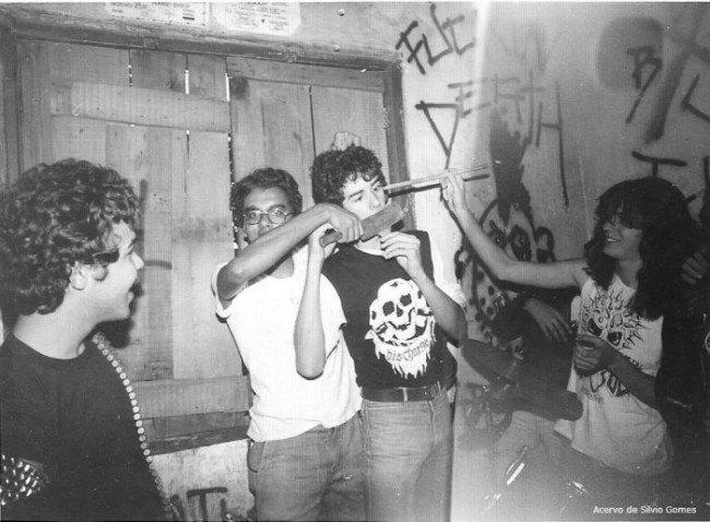 В сети появились архивные фотографии Sepultura. Изображение № 15.