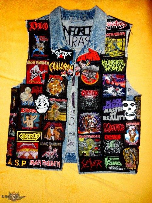 Battle Jackets: Tumblr-блог, посвящённый жилетам с нашивками. Изображение № 23.