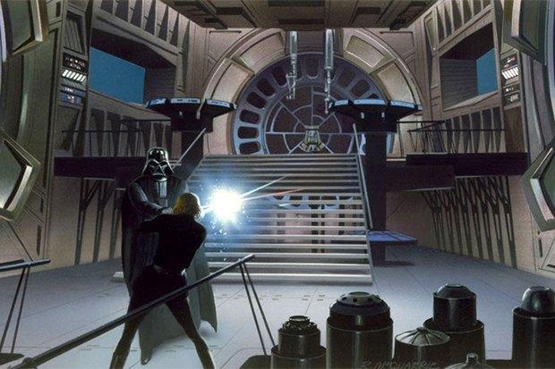 В сети появился оригинальный концепт-арт «Звёздных войн». Изображение № 8.